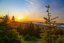 Sunrise on Mount Mansfield