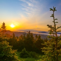 Sunrise on Mount Mansfield